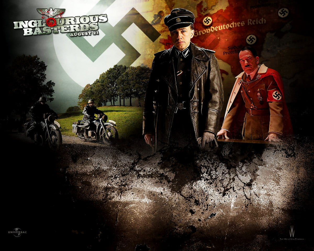 Wallpaper Inglourious Basterds, Movies, Poster   Free TOP backgrounds