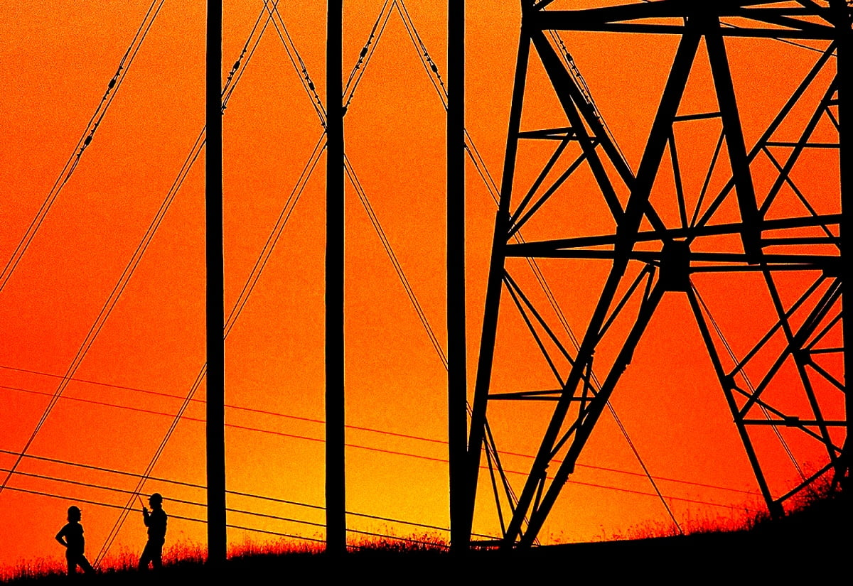 Awesome Industrial Electricity Transmission Tower Wallpaper Free Best Pics Wallpapic