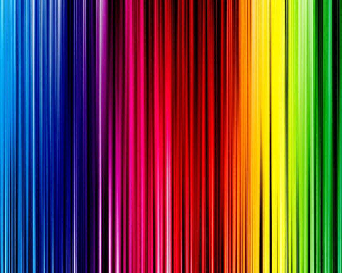 Cool Wallpaper Rainbow Colors Blue Green Free Download Backgrounds